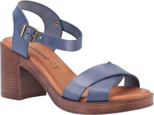 Hush Puppies Georgia Sandal Ladies Summer Blue